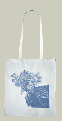 colour pigeon tote