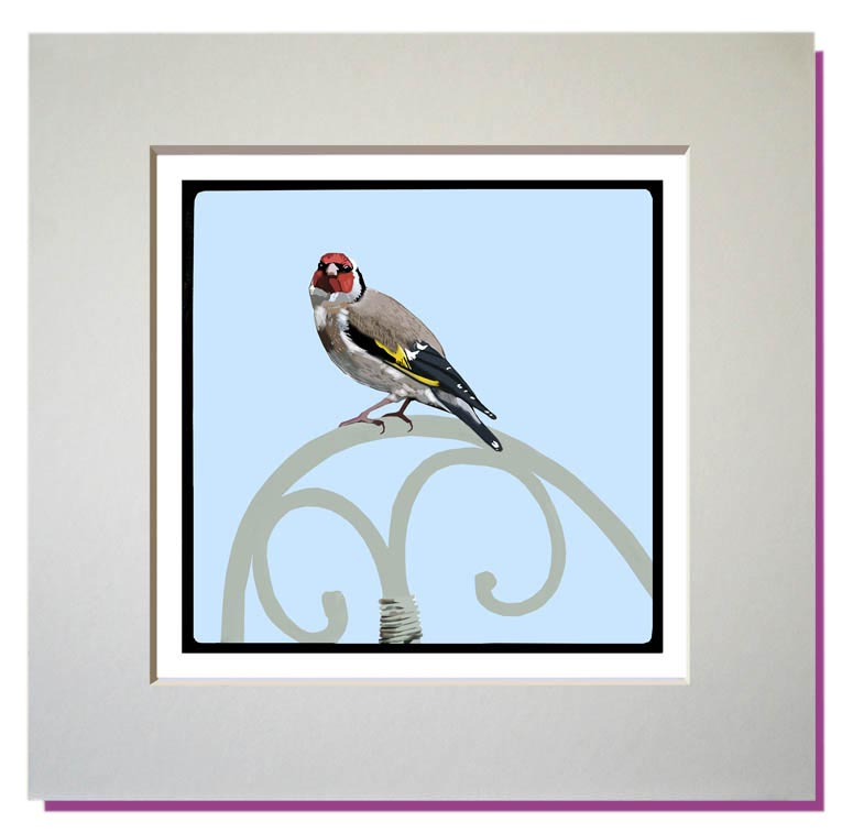 small print goldfinch