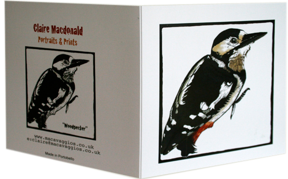 woodpecker card photo